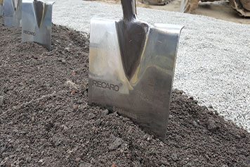 RECARO logistics centre ground breaking ceremony