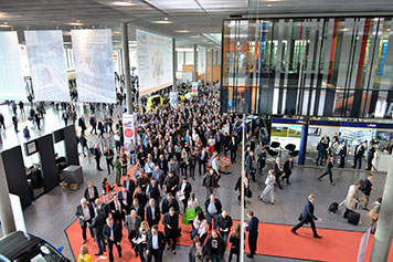 [Translate to English:] IGZ Eröffnung Logimat 2017