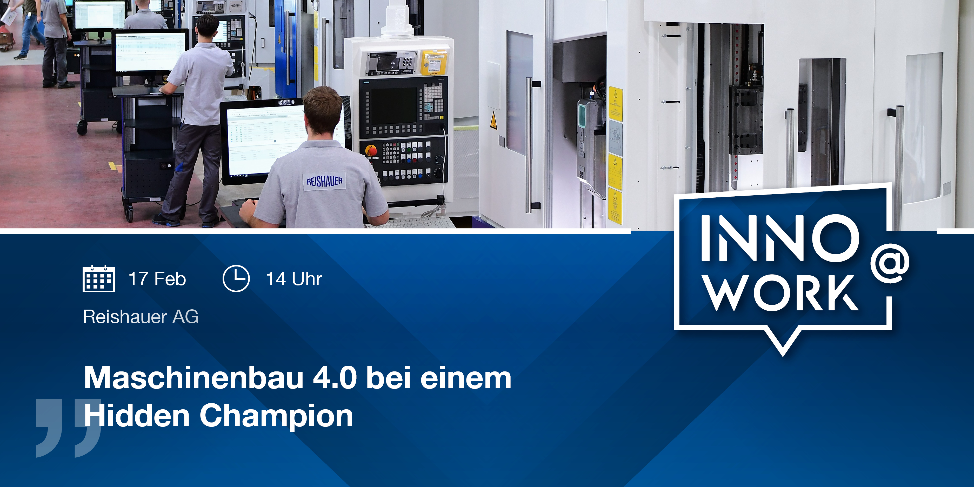 Innovation@Work Webinar Reishauer | IGZ