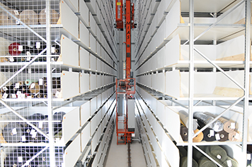 Mehler automated high-bay storage system