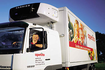 apetito truck with man