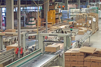 IGZ references: Packing line at Schneider