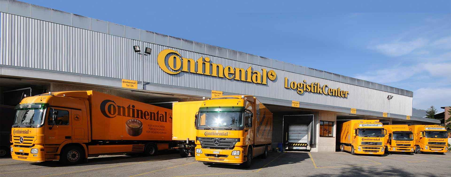 Global tyre distribution from over 70 logistics centres